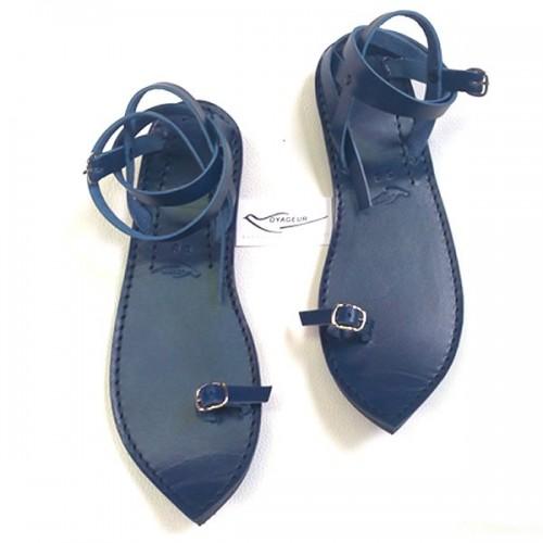 Sandale originale pointue artisan Voyageur