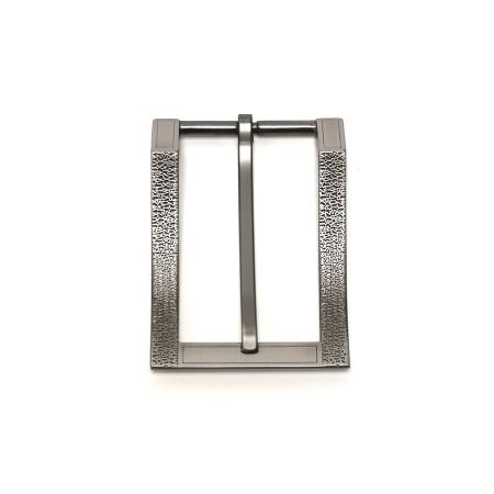 Boucle grise 3.5 cm design modern Idam