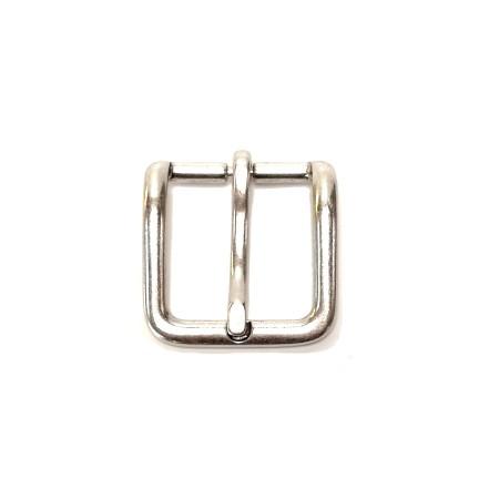 Boucle ceinture 3.5 cm vieil argent n°35