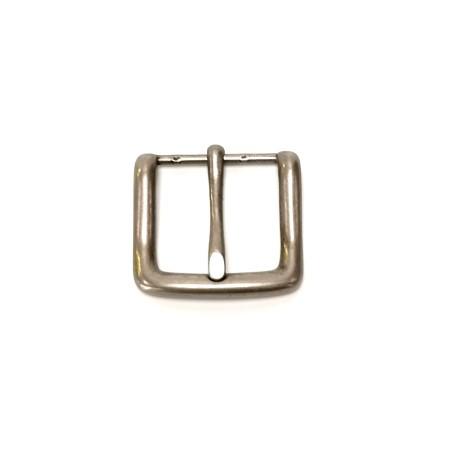 Boucle ceinture courte grise3.5 cm n°27