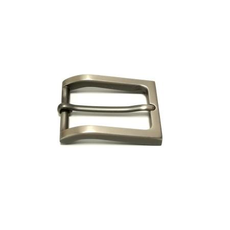 Boucle ceinture Idam 3 cm grise atelier Voyageur