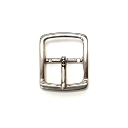 Boucle ceinture 3 cm Laiton Massif atelier Voyageur