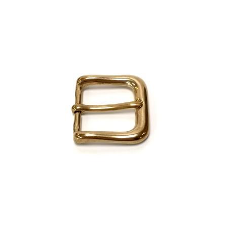 Boucle ceinture 3 cm n°39 Laiton Massif jaune
