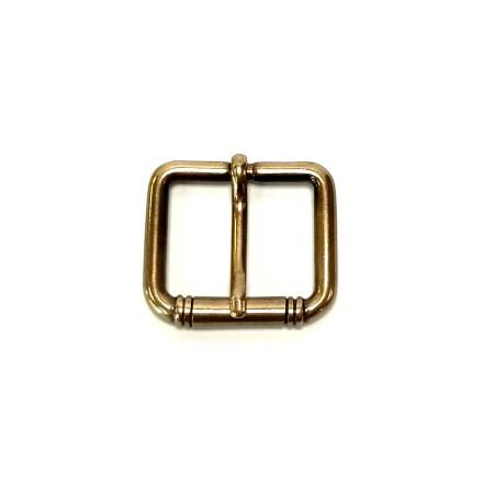Boucle courte décorée ceinture 3 cm artisan Voyageur
