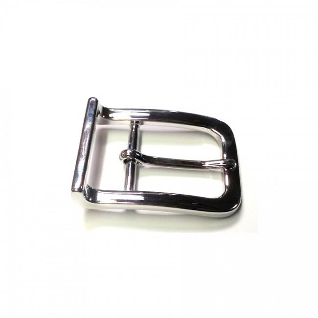 "Boucle de ceinture 3 cm n°27 effet ""nickel"""