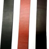 Sangle en cuir véritable ceinture 4 cm noir marron moka artisan Voyageur
