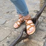 Sandales cuir Grec