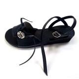 Sandale cuir femme élégante fabriquée en France cuir véritable artisan Voyageur