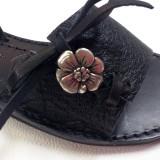 Sandales femme Baléares talon compensée cuir véritable fabrication française atelier Voyageur