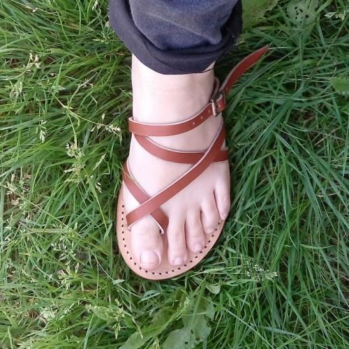 Sandales Mali marron