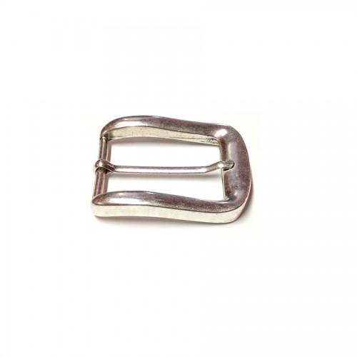 Boucle ceinture 4 cm vieil argent n°62