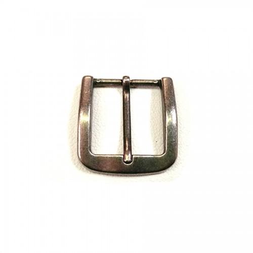 """Boucle ceinture """"vieil argent"""" 4 cm n°64"""