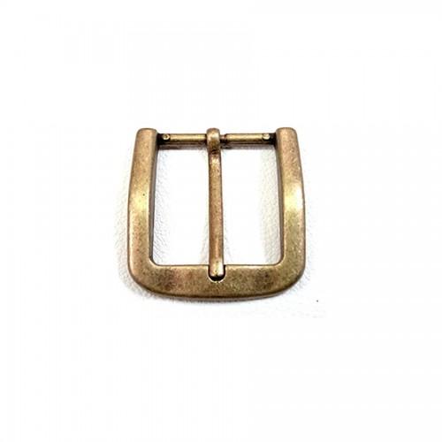 """Boucle ceinture 4 cm n°65 effet """"vieux laiton"""""""