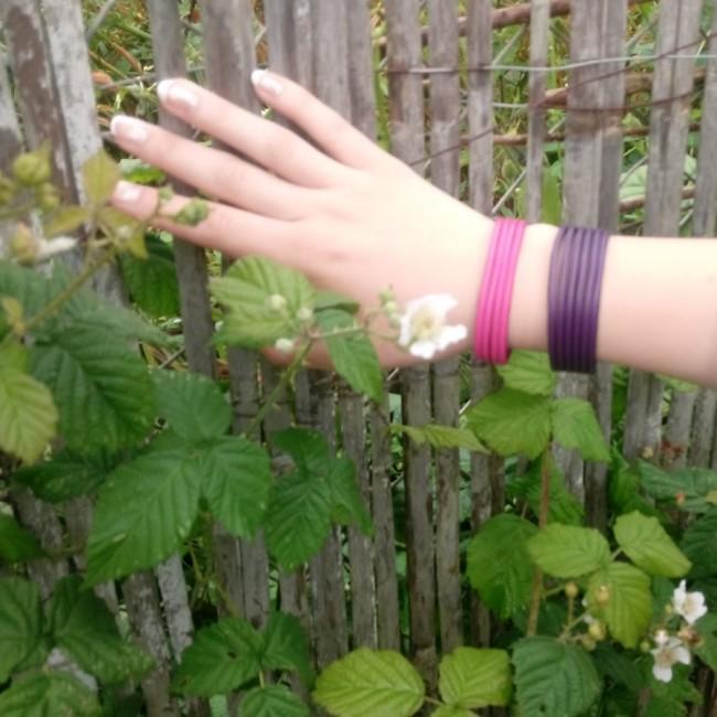 Bracelet cuir multibrins femme fabrication artisanale française luxe