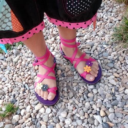 Sandales Grec FlowersColors