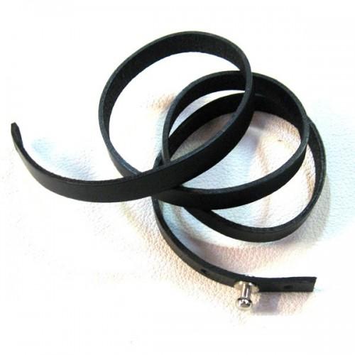 Bracelet cuir Multi Tours Cartouchière