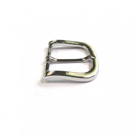 Boucle 4 cm n°58 nickel brossé