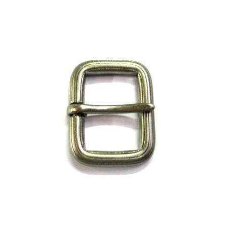 Boucle ceinture 4 cm vieil argent n°31