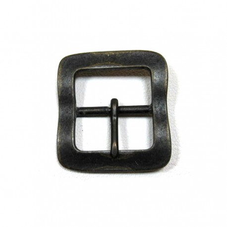 Boucle 4 cm n°68 Idam double carré