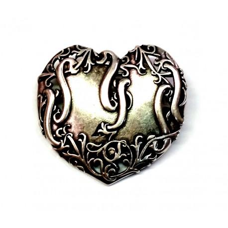 Boucle 4 cm Coeur romantique n°78 ceinture