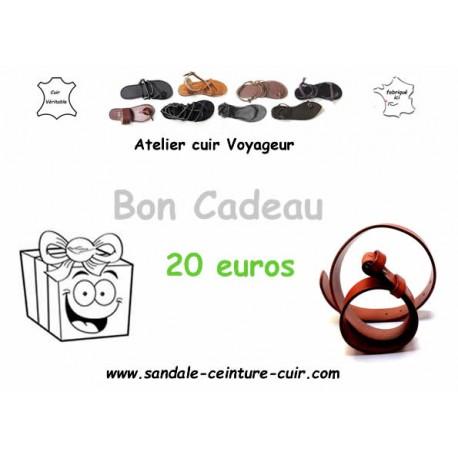 Bon Achat Cadeau Offrir Cuir Véritable Sandales Artisanale Femme Homme