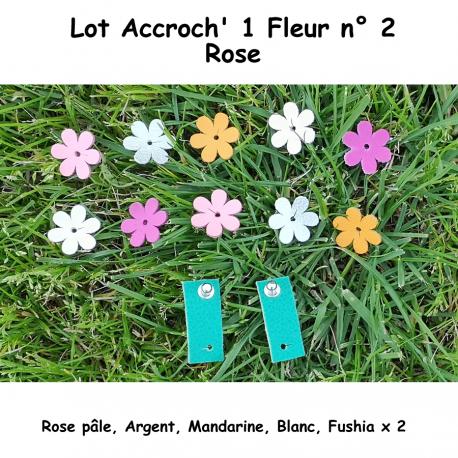 Pack 2 Accroch' 1 Fleur et ses 10 Fleurs n°2