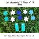 Pack 2 Accroch' 1 Fleur et ses 10 Fleurs n°3