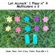 Pack 2 Accroch' 1 Fleur et ses 10 Fleurs n°4