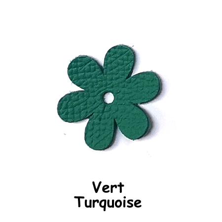 Fleur Vert Turquoise pour Accroch'Fleurs