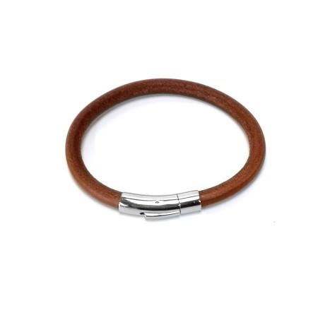 Bracelet Clip tannage végétal fabrication artisanale française