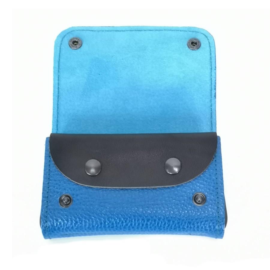 Portefeuille Rectangle Bleu